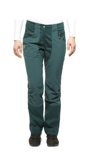 Salewa Hubella 3.0 lange broek CO petrol
